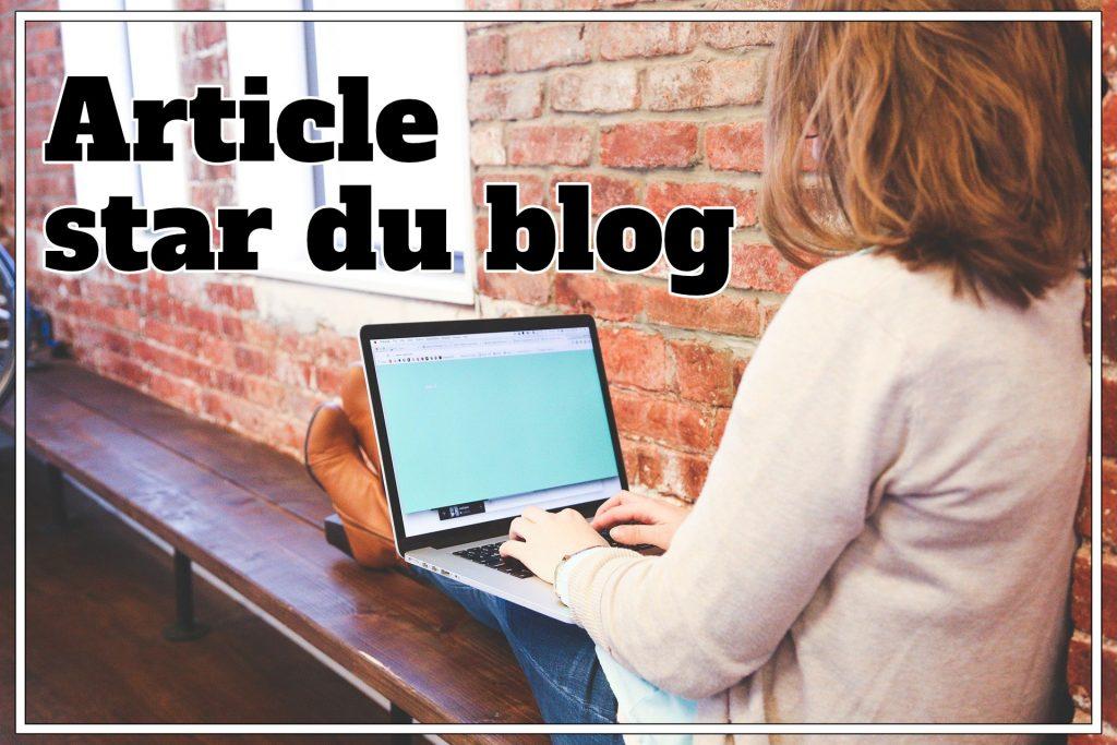 article, star du blog