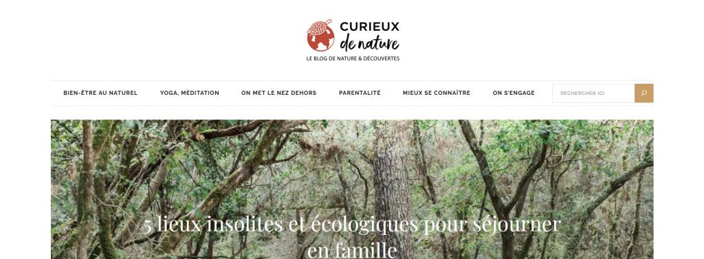 Curieux de nature, le blog d'entreprise de Nature & Découvertes